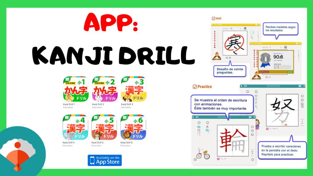 app de kanji para ipad